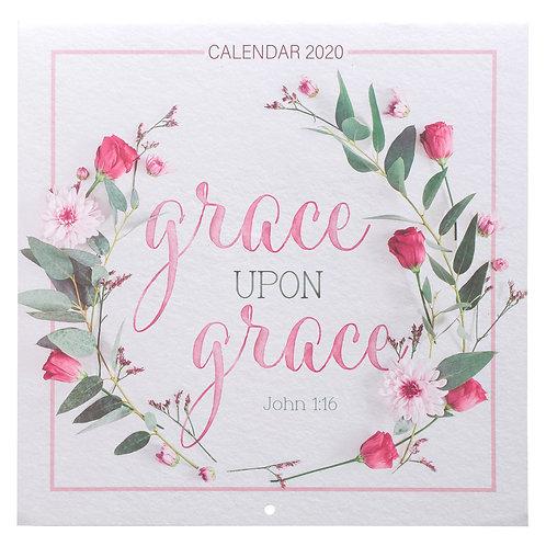 Grace Upon Grace 2020 Calendar