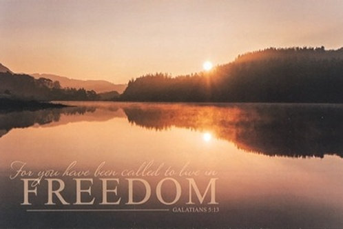 For You Have Been Called to Live In Freedom Wall Plaque