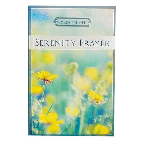 Serenity Prayer Words of Hope