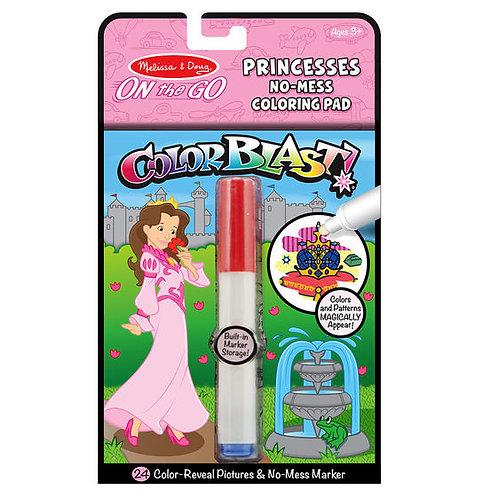 On the Go ColorBlast No-Mess Coloring Pad - Princess