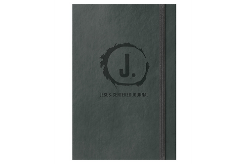 NLT Jesus Centered Bible in Charcoal