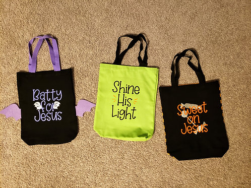 Christian Harvest Bags for Trick-or-Treating, Trunk-or-Treat or Church Events