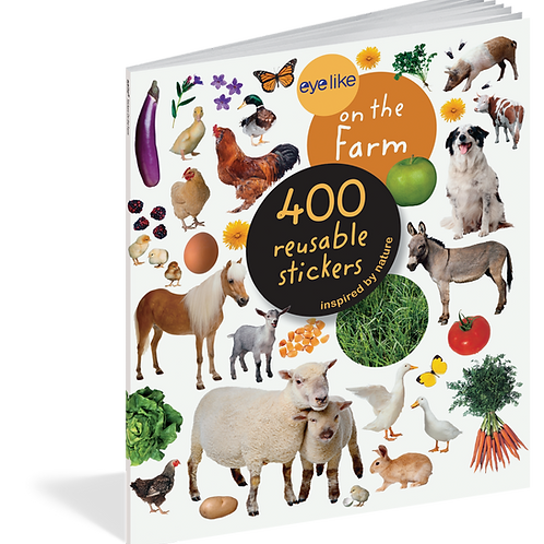 Eyelike Stickers: Horses 400 Reusable Stickers
