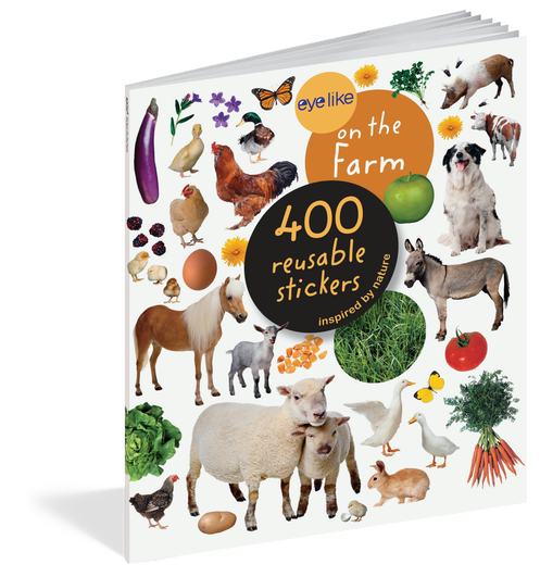 Eyelike Stickers On The Farm 400 Reusable Stickers