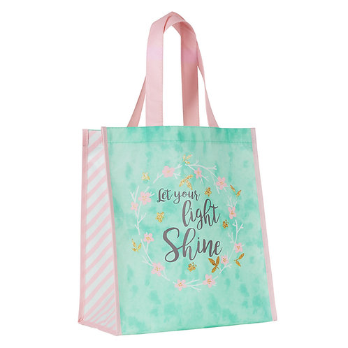 Let Your Light Shine - Matthew 5:16 Tote Bag