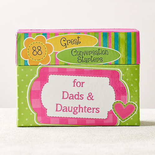 88 Great Conversation Starters For Dads/Daughters