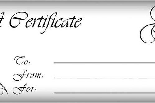 Gif Certificate