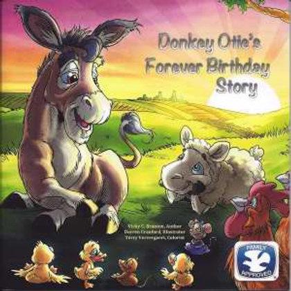 Donkey Otte's Forever Birthday Story by Vicky Branton