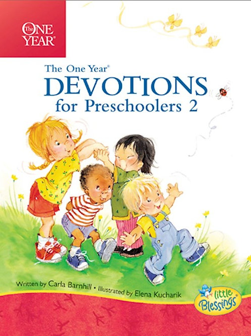 One Year Devotional For Preschoolers 2