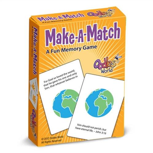 Make-A-Match Card Game