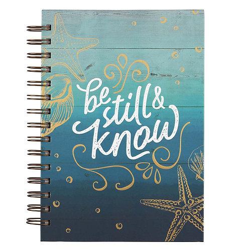 Be Still WIrebound Journal
