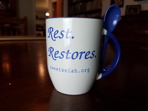 Rest Restores Sweet Selah Mug with Spoon