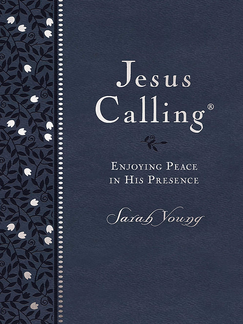 Jesus Calling Large Print Blue Indigo