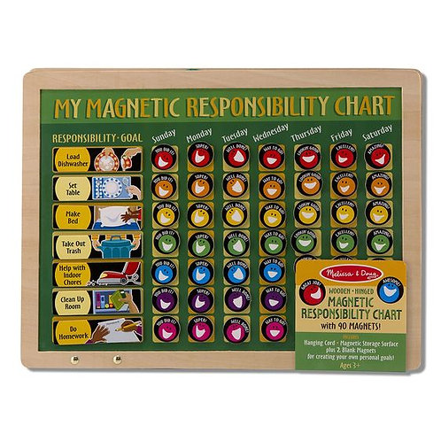 Magnetic Responsibility Chart (Chore Chart) by Melissa and Doug
