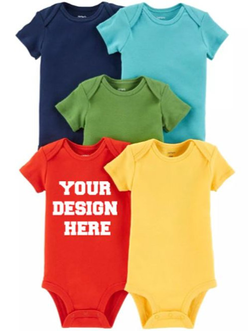 Handcrafted Baby Boy Onesie (You Choose the Design!)