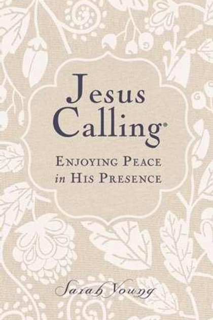 Jesus Calling Enjoying Peace In His Presence by Sarah Young Large Print