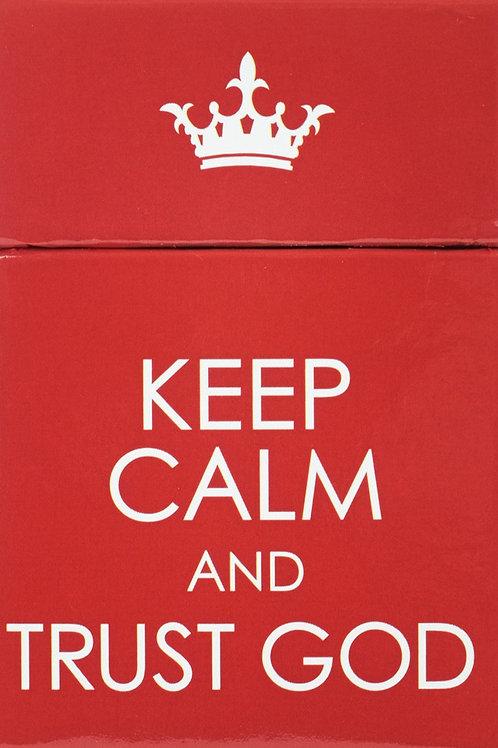 Keep Calm & Trust God Box of Blessings
