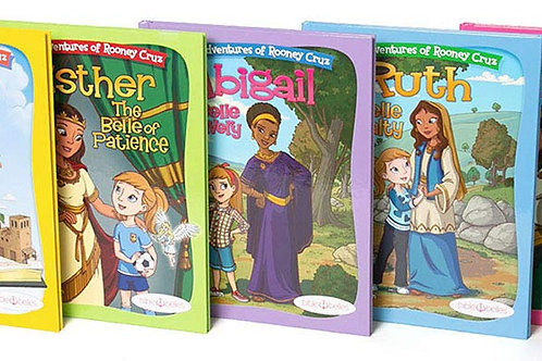 The Belles Of The Bible (Deborah, Esther, Ruth, Abigail, Hannah) 5 book set