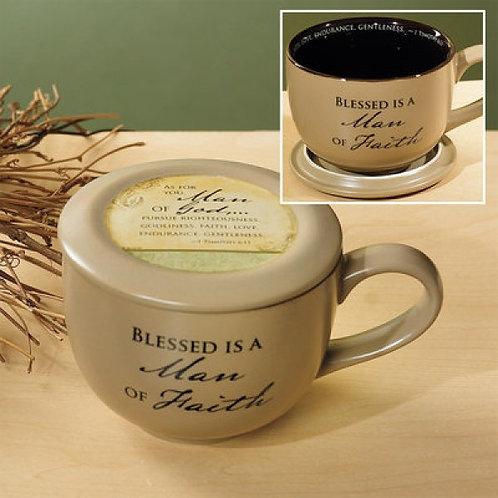 Blessed Man Of God Soup Mug
