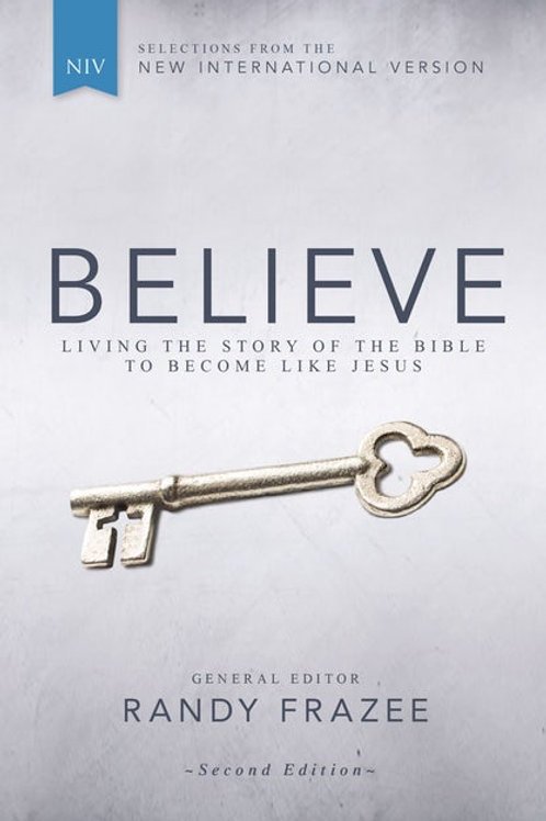 NIV Believe Living The Story Of The Bible To Become Like Jesus