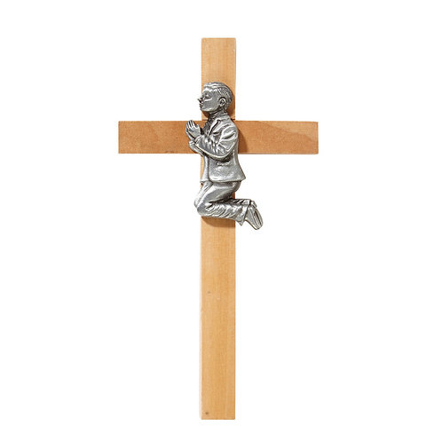 First Communion Cross-Boy