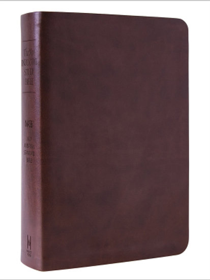 The New Inductive NASB Study Bible Milano Softone Brown