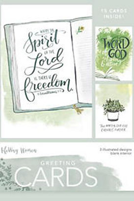 Where The Spirit Of The Lord Is, There Is Freedom Boxed Cards
