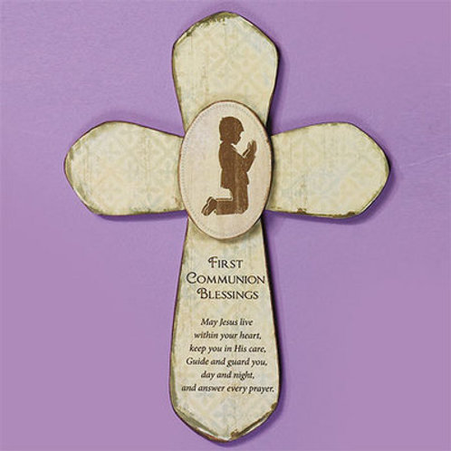 First Holy Communion Cross For Boys
