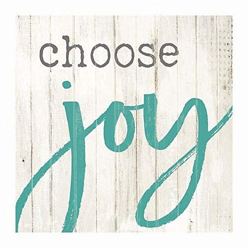 Choose Joy Word Block