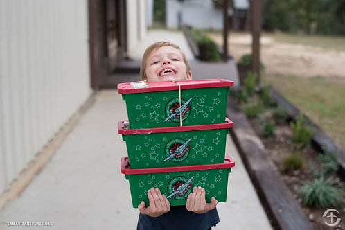 Pre-Filled Operation Christmas Child Box