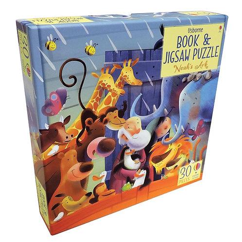 Usborne Book and Jigsaw Puzzle Noah's Ark