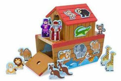 Noah's Ark Wooden Shape Sorter