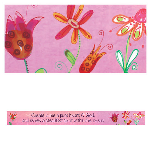 A Pure Heart Magnetic Strip - Psalm 51:10