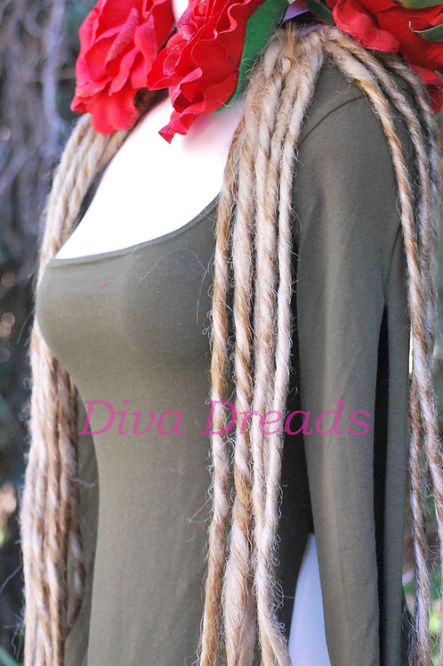 Diva Dreads Signature Dreads in Color #613/27 (Blonde) XL