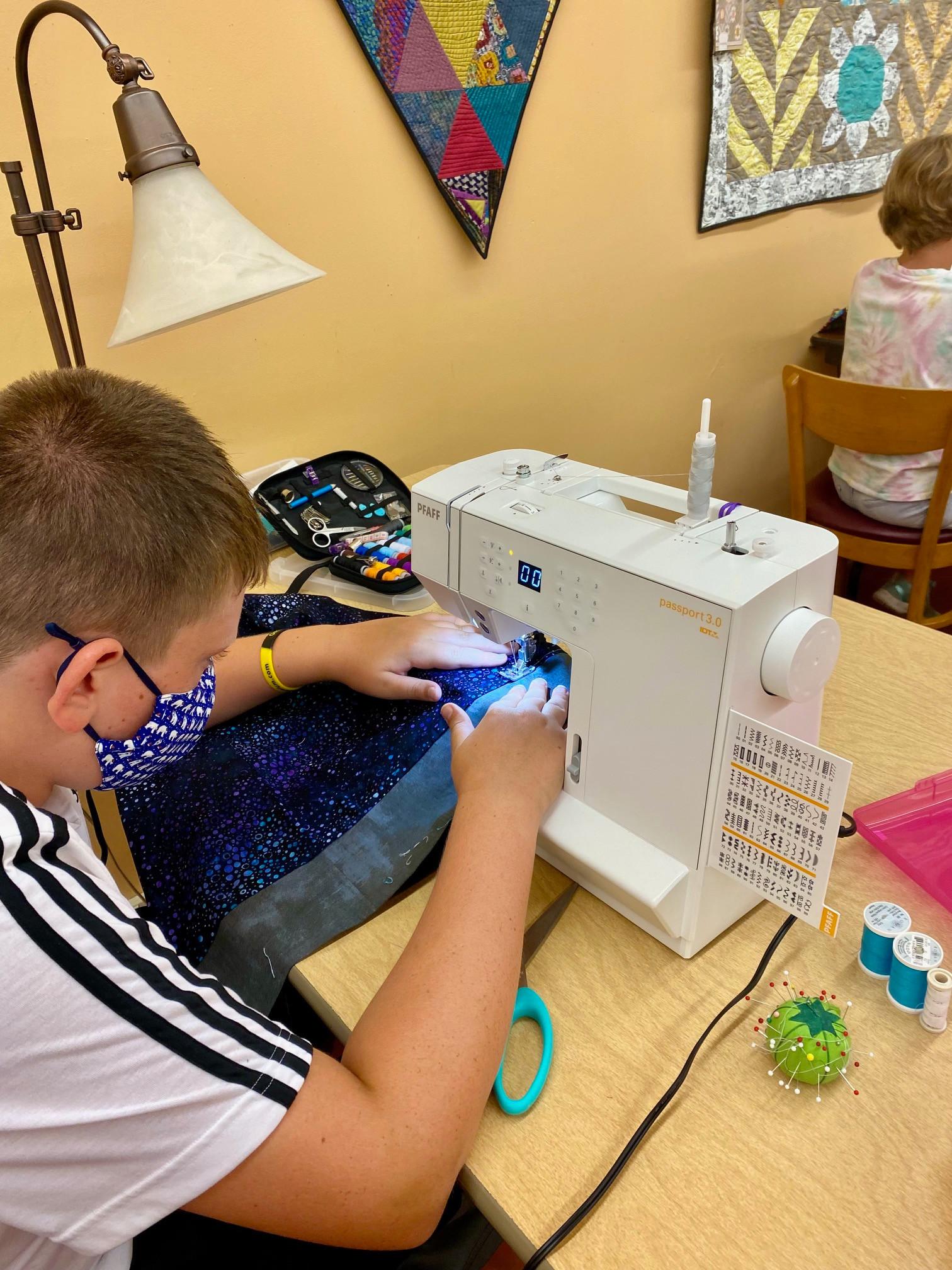 Youth Sewing Basics Studio [September]