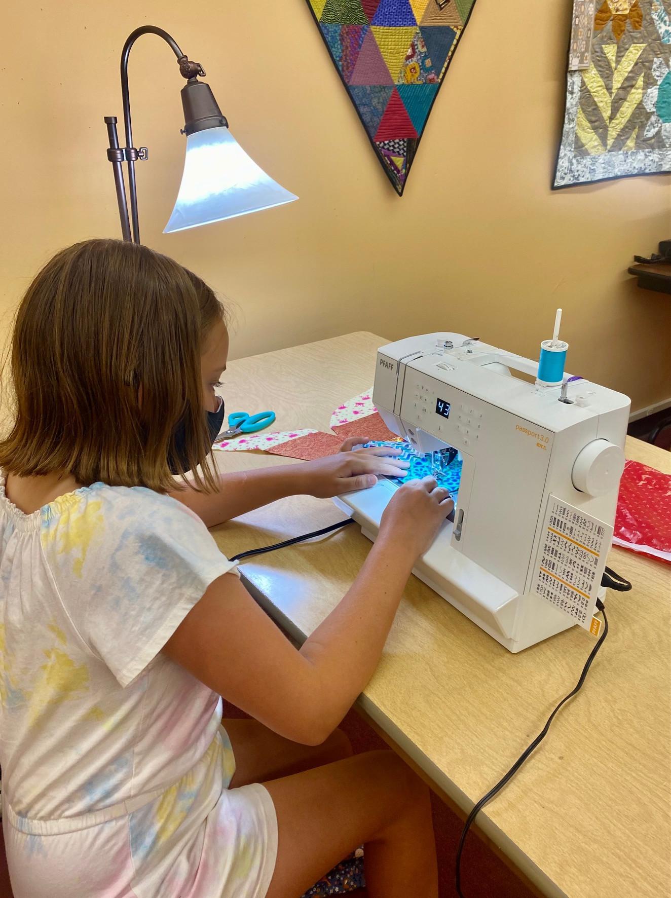 Youth Sewing Basics Studio [October]