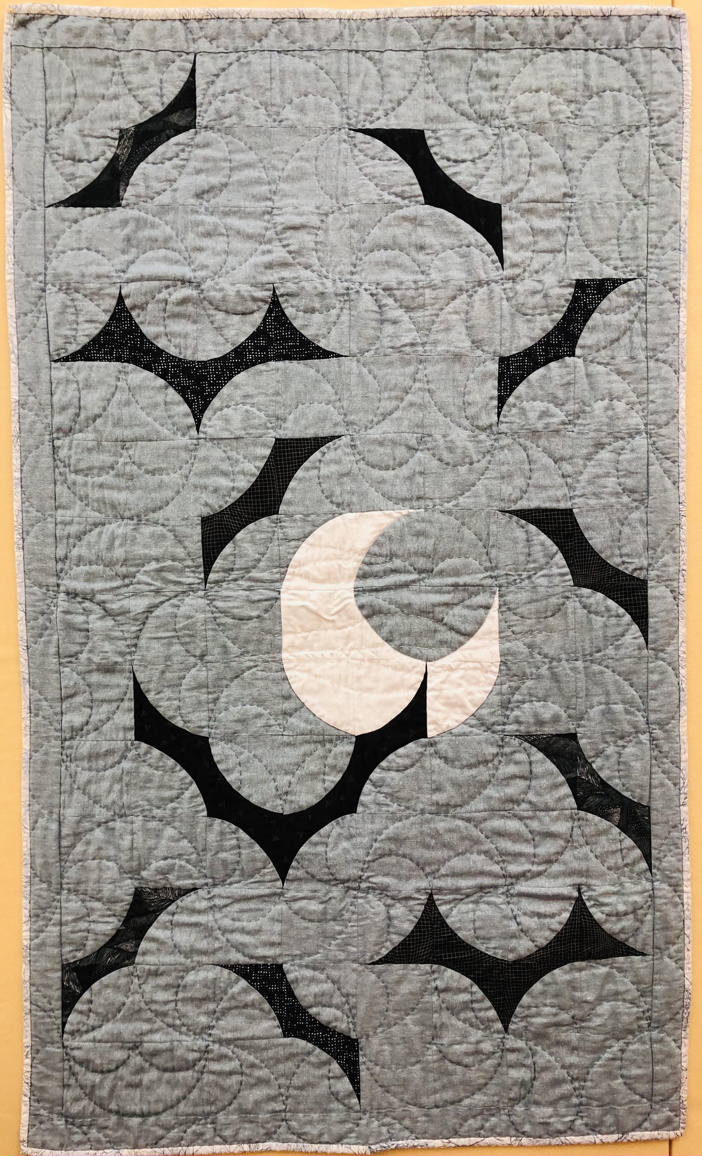 Bat Moon Rising Quilt
