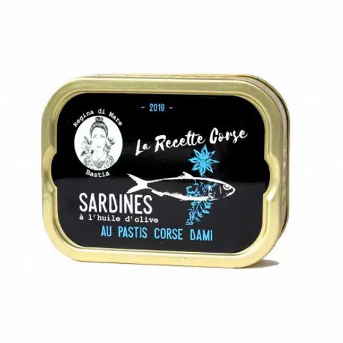 Sardinen mit korsischem Pastis