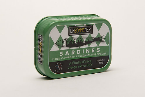 Sardinen mit Bio-Olivenöl