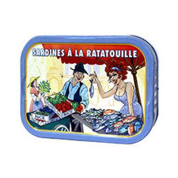 """Sardinen """"à la ratatouille"""""""