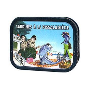 """Sardinen """"à la Pissaladière"""""""