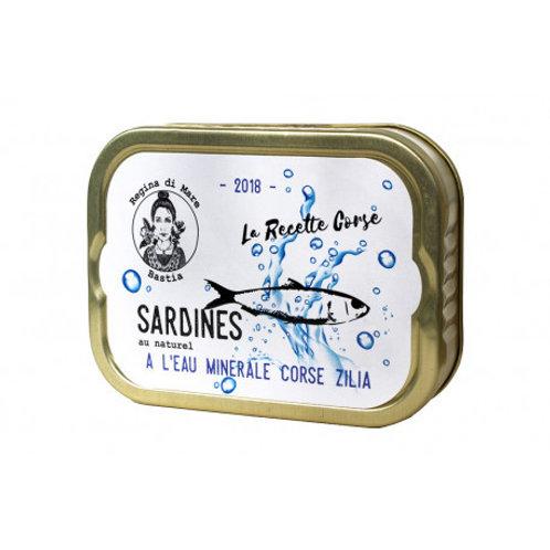 """Sardinen mit Bergwasser """"Zilia"""""""