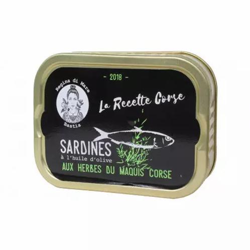 Sardinen mit korsischen Kräutern