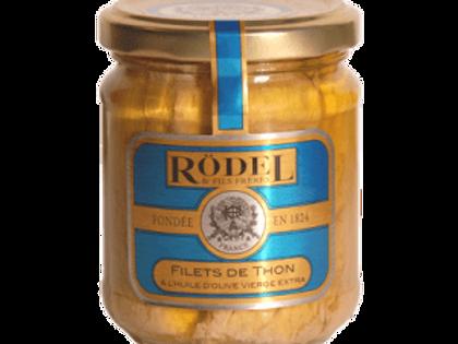 Thunfisch Filet in Glas mit Olivenöl 125g Rödel