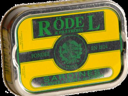 """Sardinen """"Zitrone"""" und Olivenöl 115g Rödel"""