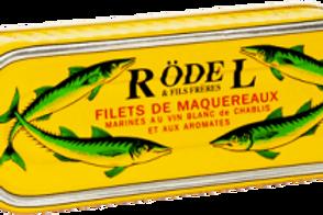 Makrelen Filet mariniert in Chablis 176g Rödel