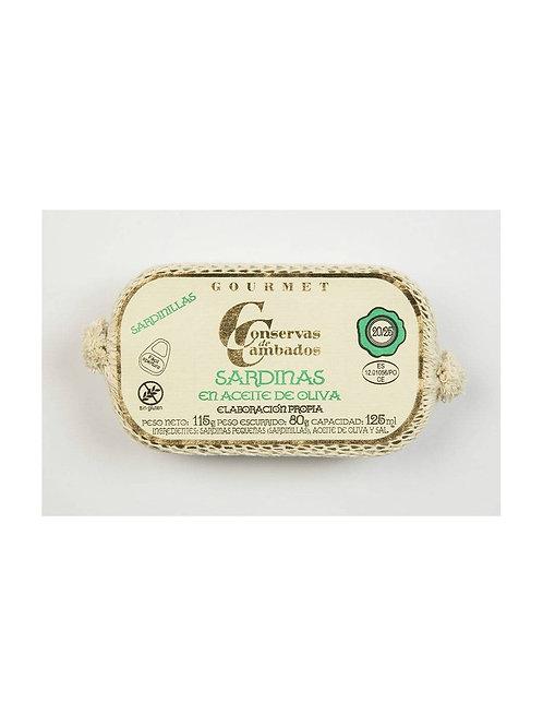 Kleine Sardinen in Olivenöl 20/25