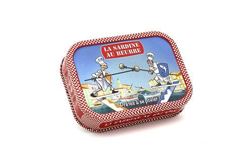Sardinen mit Butter und Petersil zum Braten