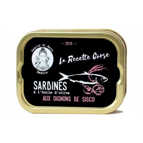 Sardinen mit Sisco-Zwiebeln
