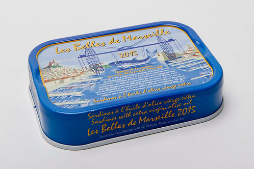 Jahrgang Sardinen 2015 Belles de Marseille